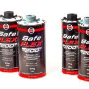 HML SafeFLEX - środek do konserwacji karoserii 1kg i 2kg szary i czarny